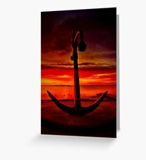 """The Anchor Holds"" Greeting Card"