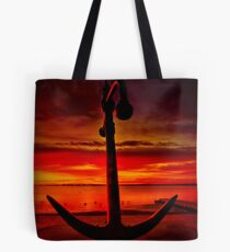 """""""The Anchor Holds"""" Tote Bag"""