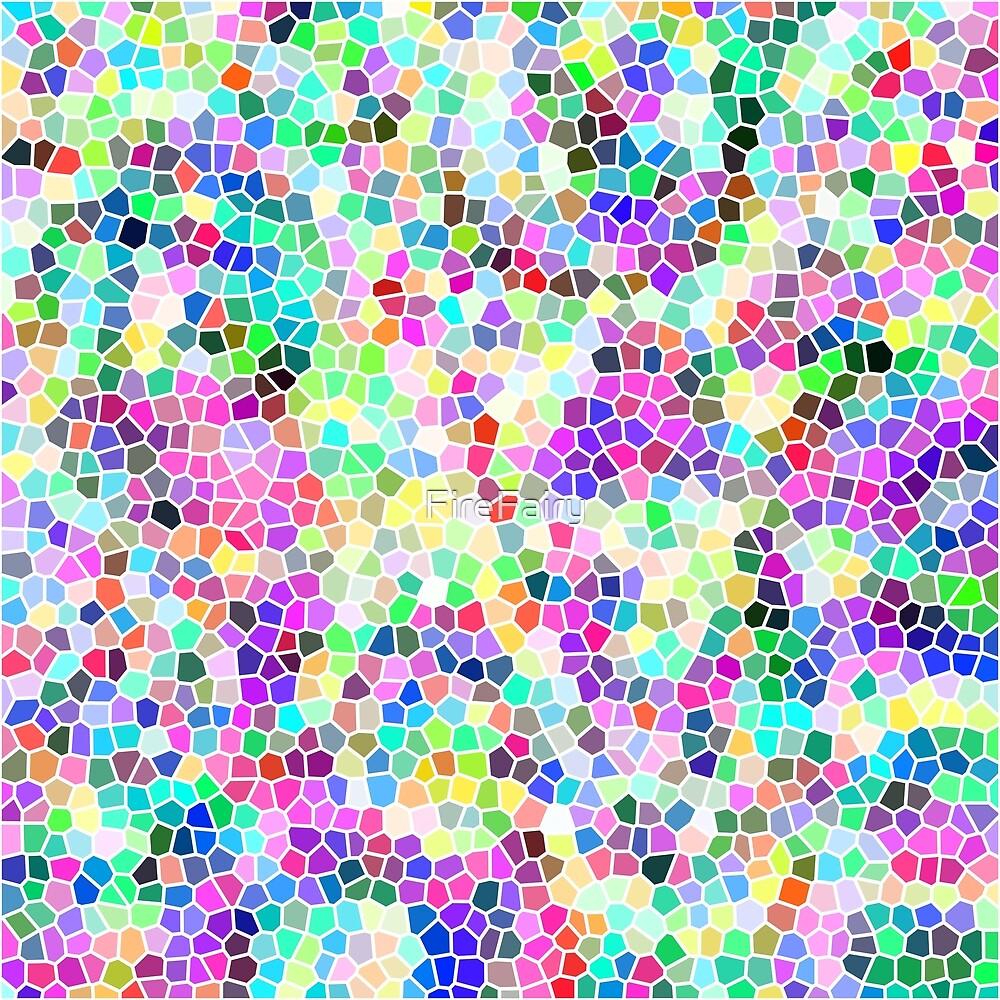 318. Rainbow Mosaic  by FireFairy