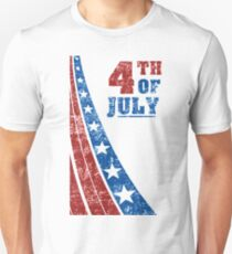 4th of July Independence Day Unisex T-Shirt