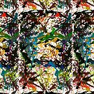 New Abstract Pattern - F - Splat Sensation by Master S P E K T R