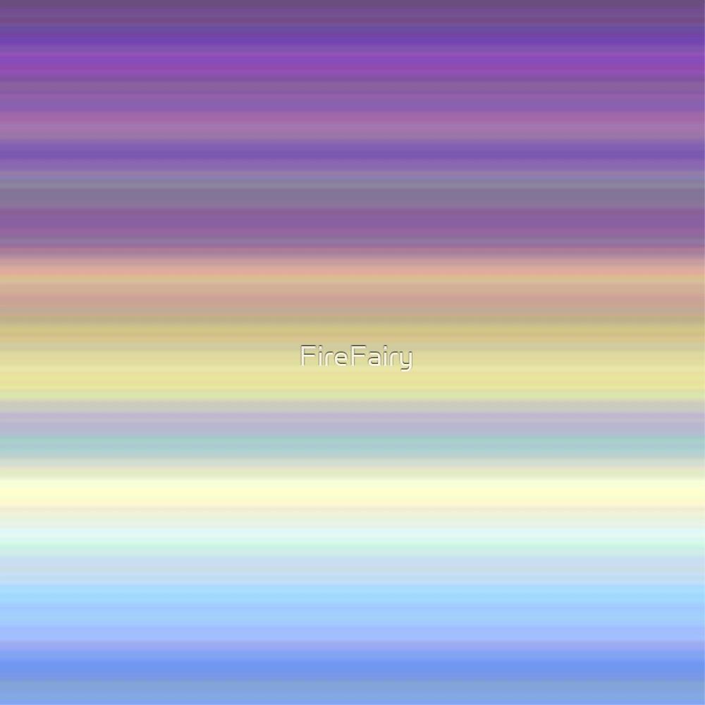 307. Morning Sky Stripes by FireFairy