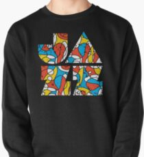 Colorful Jazz Typographic Design Pullover