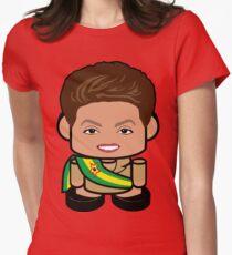 Belo Vana Politico'bot Toy Robot 1.0 Women's Fitted T-Shirt