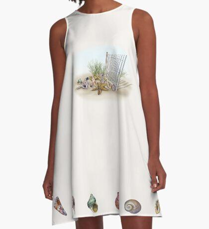 Beach Dreams A-Line Dress