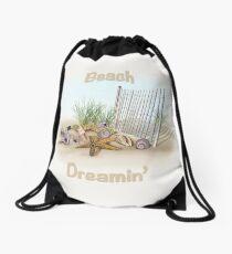 Beach Dreams Drawstring Bag