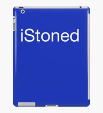 iStoned funny weed pot stoner design iPad Case/Skin