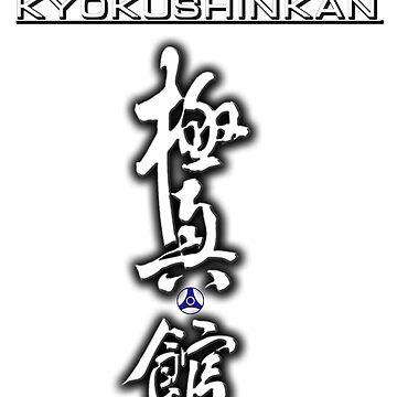 Kiokushin kan karate japan simbol by BacksDesign