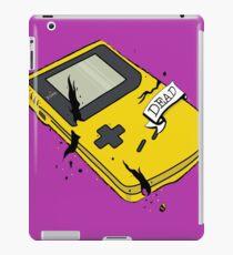Game Boy Yellow - DEAD iPad Case/Skin