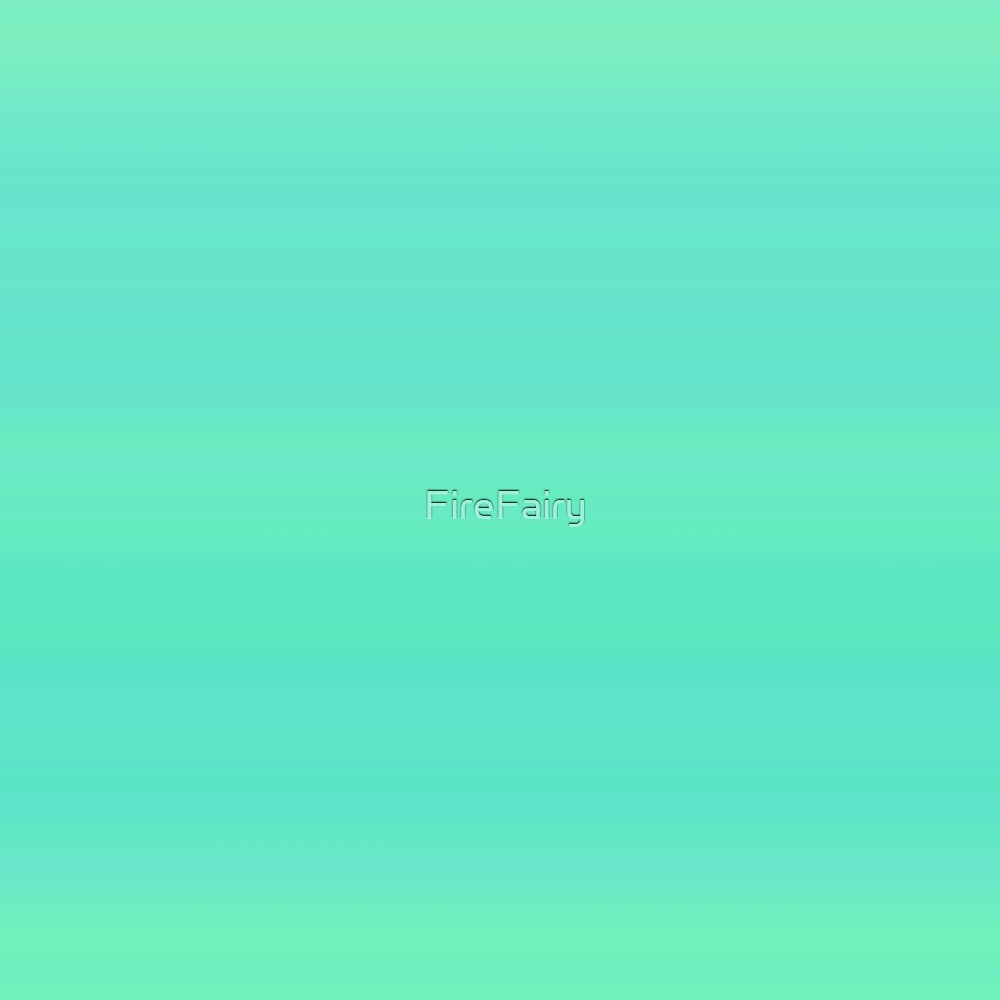 233. Green-Turquoise Stripes by FireFairy