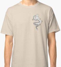 Black and white dragon design Classic T-Shirt