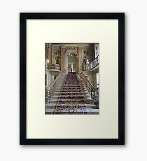 Grand Staircase of the Painted Hall Framed Print