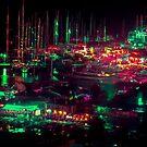 Neon Harbour by Eugene Tumusiime