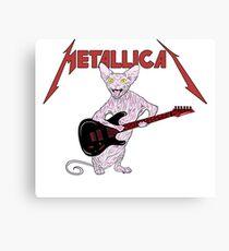 Metallicat Canvas Print
