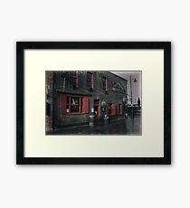The Anchor in London  Framed Print