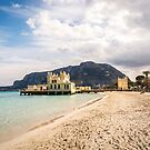 Mondello Beach Palermo, Italy by Sunil Bhardwaj