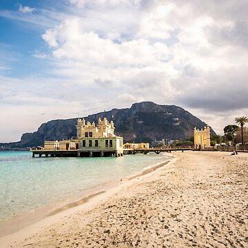 Mondello Beach Palermo, Italy by sunilbhar