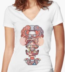 Artificial Intelligence Women's Fitted V-Neck T-Shirt