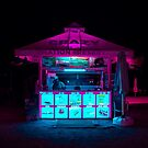 Neon Tent by Eugene Tumusiime