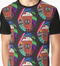 Psychedelic Frappuccino Graphic T-Shirt