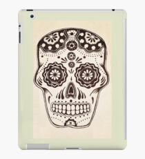 Sugar Skull in ink iPad Case/Skin