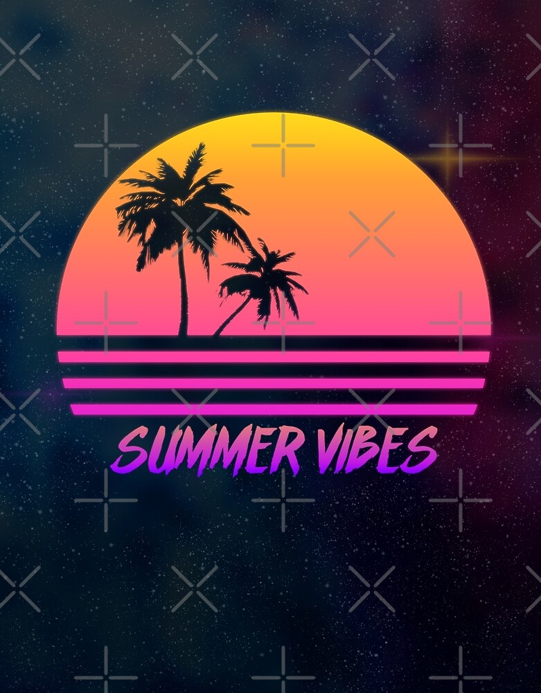 b883803f0942 Summer Vibes - Retro Synth Sunset Style