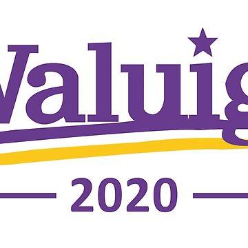 Waluigi 2020 funny political shirt by TryStar