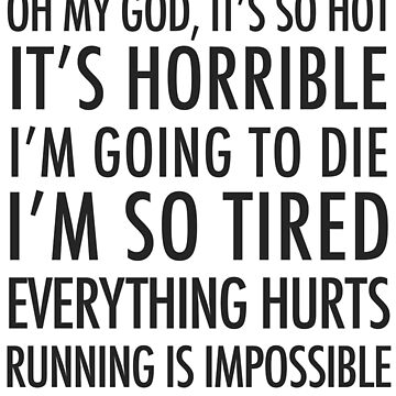Running Is Impossible by eostyles