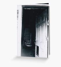 Black Greeting Card