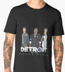 Detroit: Become Human- Markus, Kara, Connor Men's Premium T-Shirt