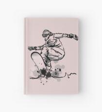 snowboard Hardcover Journal