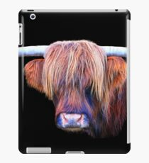 Highland Cow in Colour iPad Case/Skin