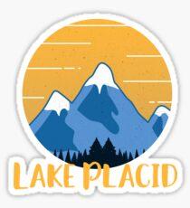 Lake Placid Hiking Mountains Sticker