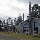 Haida Heritage Centre at Ḵay Llnagaay (Skidegate, Haida Gwaii, British Columbia, Canada) by Edward A. Lentz