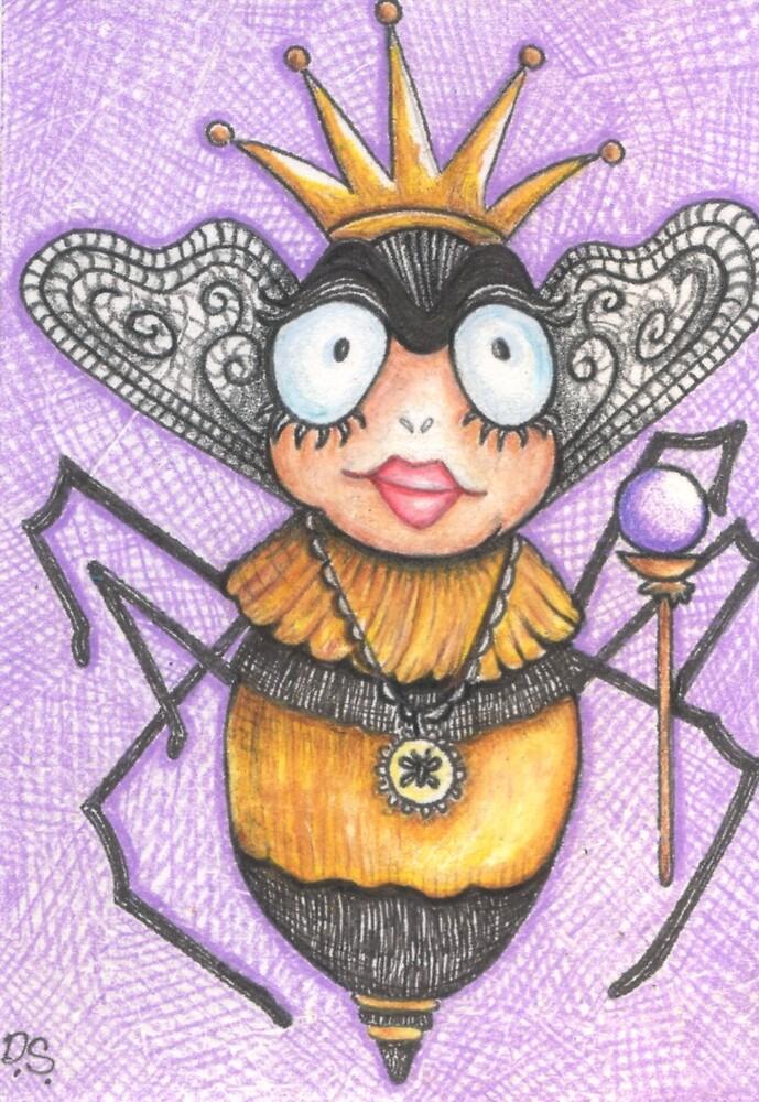 Queen Bee by DawnSercia