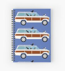 Pippi and Wags Spiral Notebook