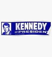 1968 Robert Kennedy for President Poster