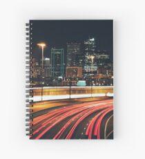 Denver After Dark #3 Spiral Notebook