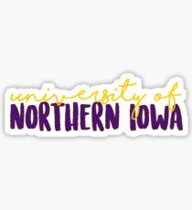 University of Northern Iowa Sticker