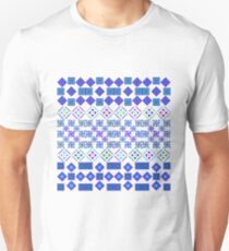 Patchwork of Petals Unisex T-Shirt