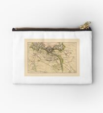Map Of Lille 1708 Studio Pouch