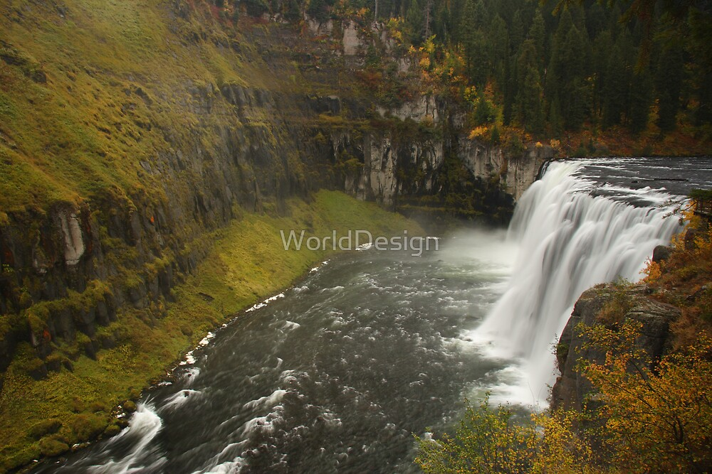 Mesa Falls by WorldDesign