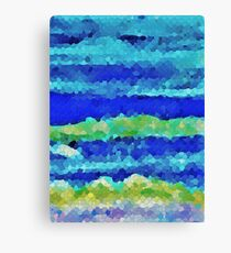 Undertow Abstract Canvas Print