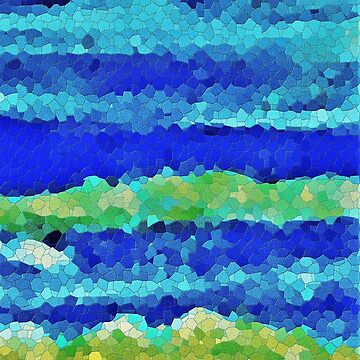 Undertow Abstract by TraceyLeeCassin