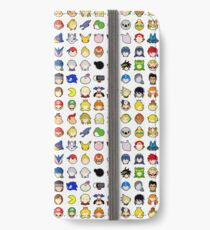 Super Smash Bros Ultimate Stock Icons iPhone Wallet/Case/Skin