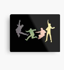 Beatles Multi Media Print Metal Print