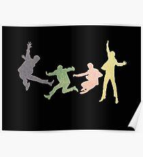 Beatles Multi Media Print Poster