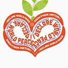 IDWP Peace-Love-Apple-Tomato by IDWP