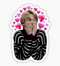 Jimin loves it  Sticker