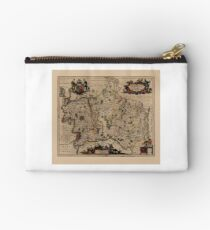 Map Of Middlesex 1646 Studio Pouch